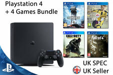 NEW SEALED Playstation 4 SLIM Console + 4 Games UK PAL Inc 3 FPS Shooters & FIFA