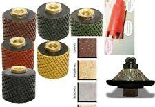 "1 3/8"" Wet Polishing Drum core bit 7 + 3/8"" Bevel Bullnose Router stone concrete"