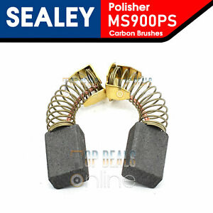 Sealey MS900PS Replacement Carbon Brushes for Polisher / Sander 1300w