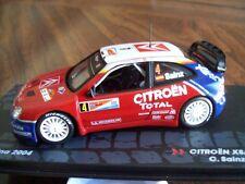 CITROEN XSARA WRC WINNER 2004 ARGENTINA RALLY Carlos SAINZ / MARTI. IXO 1/43 NEW
