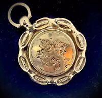 EDWARDIAN 9CT LOCKET PENDANT GOLD ANTIQUE HINGED OPENING SPELLBINDING KEEPSAKE