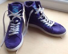 PUMA FIRST ROUND LADIES PURPLE TRAINERS -SIZE UK 3 1/2, Women Hi Tops 3.5