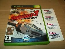 BURNOUT 3 TAKEDOWN USATO PAL ITA ORIGINALE! RARO!