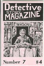 DETECTIVE STORY MAGAZINE #7, rare US Gryphon crime fiction noir digest size mag