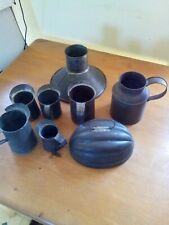 New listing 8 pieces soldered tin kitchen utensils