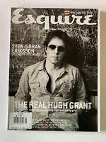 Esquire UK Magazine May 2002 - Sven-Goran Eriksson, Hugh Grant
