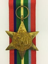 British WWII Pacific Star full size veteran replacement medal