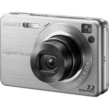 SONY CYBER-SHOT DSC-W120 7.2MP (SILVER) DIGITAL CAMERA ~ FULLY TESTED