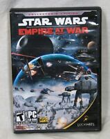 Star Wars Empire at War PC CD-ROM Windows 2000 / XP 2006 with inserts