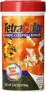 Tetra Tetracolor Goldfish Color Sinking Granules 3.52 Fish Food ProCare granule