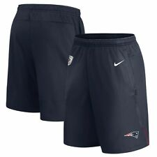 Nike New England Patriots Dri-Fit Coaches Performance Shorts Size XL