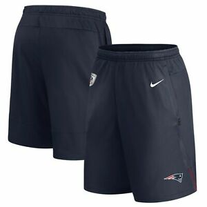 Nike New England Patriots Dri-Fit Coaches Performance Shorts Size Large