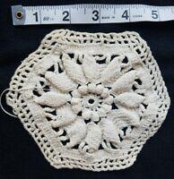 """A15 5.75"""" Vintage Crochet Lace Flower Doily Doilies Coaster Home Primitive Decor"""