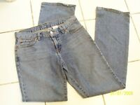 LUCKY BRAND DUNGAREES - WOMEN'S MID-RISE FLARE DENIM JEANS SIZE 4/27 EUC