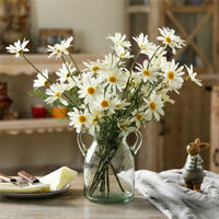 1 Bouquet Artificial Fake Silk Daisy Flowers For Home Wedding Party Decoration