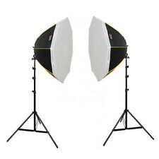 Dauerlicht-Set OS-890, 8x150 W mit Oktagon-Softbox Ø 90 cm Daulight Fotostudio