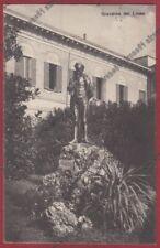 VARESE GORLA MINORE 06 COLLEGIO ROTONDI - GIARDINO MONUMENTO a VOLTA viagg. 1924