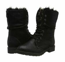 Tom Tailor Women's 585200730 Ankle Boots  (Black) 7.5 UK EU41 fur lined