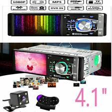 MP3 MP5 Player Car Radio HD Stereo Bluetooth USB AUX FM + Rear Camera 1DIN  4.1