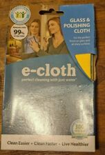e-cloth Glass & Polishing Cloth washable re-usable Removes over 99% Bacteria New