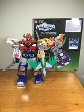 """Deluxe Power Rangers Lost Galaxy Megazord 8"""" Posable Figure Gingaman Galactazord"""