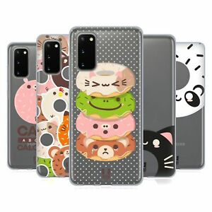 HEAD CASE DESIGNS KAWAII ANIMAL DONUTS GEL CASE FOR SAMSUNG PHONES 1
