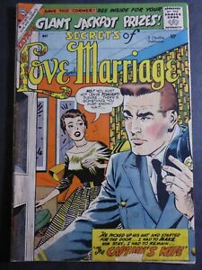 Secrets of Love and Marriage #13 ~ (1959 Charlton) Vince Colletta art! ~ GD