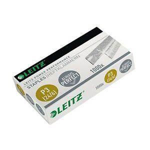 Leitz 55700000 P3 Power Performance 24/6 Staples, Strong Steel, Length 6 mm, ...