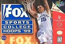 Fox Sports College Hoops '99 (Nintendo 64, *Cartridge Only*) Ships in 12 hrs!!!