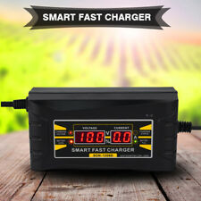 Caricabatterie mantenitore batteria 6V 12V Auto Moto Smart Veloce Display LCD