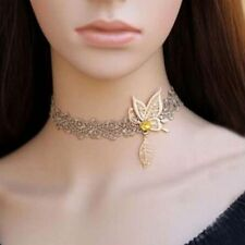Collar Lace Butterfly Women Fashion Vintage Jewelry Velvet Choker Necklace