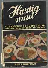 HURTIG MAD BY F. NIETLISPACH FOREWORD BY BIRGITTE BRUUN 1948 DANISH COOKBOOK
