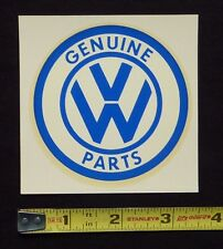 Genuine VW Parts Water Slide Decal Sticker~Original 60's Vintage~Volkswagen Bug