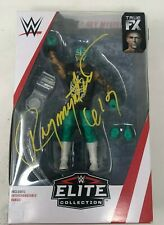 WWE Mattel Elite Collection #69 Rey Mysterio Signed Rare Action Figure NIB