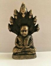Buddha Khmer Amulet Figure Antique Bronze Hands Attachments Cambodia T75