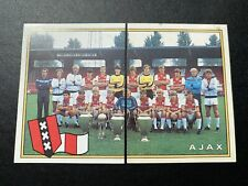 Panini Voetbal 82 -1983 Dutch League AJAX WITH ROOKIES AND JOHAN CRUIJFF