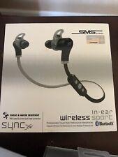 SMS Audio Sport Wireless In Ear Headphones - Black ce