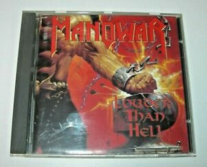 Manowar: Louder Than Hell CD Geffen Records 1996