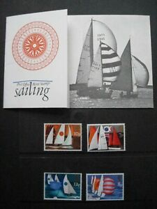 GB PRESENTATION PACK 71 2015-SAILING-SG 980-983 MNH-  WITH SLEEVE