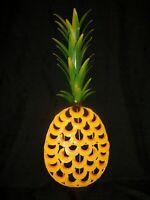Metal Art Sculpture Pineapple Wall Hanging Decorator