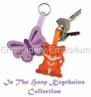 IN THE HOOP KEYCHAINS COLLECTION - MACHINE EMBROIDERY DESIGNS ON CD OR USB