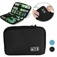 Nwt Electronic Accessories Cables Organizer Bag Travel Usb Cord Chargers Storage