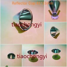 Reflector de aluminio Cup 5-10 ° para Linterna Led Cree XR-E/XM-L/XM-L2 Q5 T6 10PCS