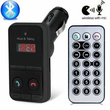 AUTO Bluetooth Audio Scheda TF Lettore Mp3 Trasmettitore FM vivavoce kit caricabatterie USB