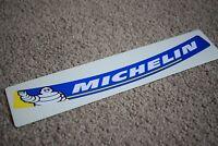 Michelin Man Visor Helmet Sunstrip Sport Racing Motorbike Bike Decal Sticker B