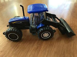2010 Matchbox New Holland Blue Tractor