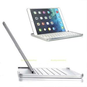 UK Ultra-thin Aluminum Wireless Bluetooth Keyboard Case Cover For ipad Mini 2/3