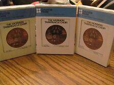 Mormon Tabernacle Choir volumes 1 2 3 4 5 6 3 8-track set STILL SEALED Columbia