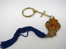 Vintage Keychain: Korea Vase Cross Tassel Design