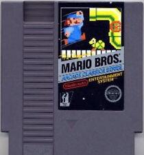 MARIO BROS ARCADE CLASSICS SERIES BLACK LABEL NINTENDO GAME ORIGINAL NES HQ